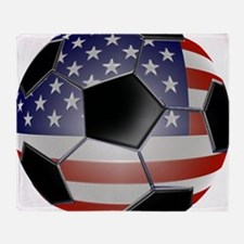 ussoccerball Throw Blanket