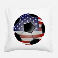 ussoccerball Square Canvas Pillow