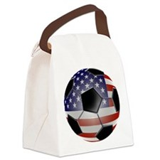 2-ussoccerball Canvas Lunch Bag