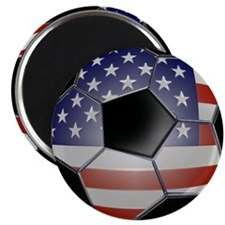 4-ussoccerball Magnet
