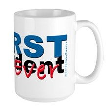WorstPresident-Bump-White Mug