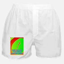 KEEP CAPITAL PUNISHMENT(framed panel  Boxer Shorts