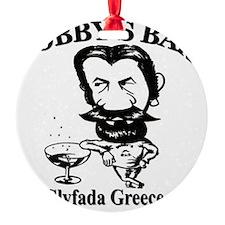 Bobbys-Bar-Logo Ornament