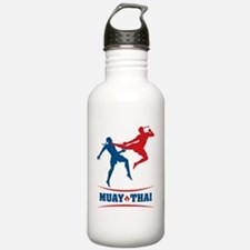 muay thai mma kickboxi Water Bottle