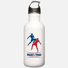 muay thai mma kickboxi Water Bottle