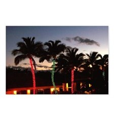 Christmas Palms Postcards (Package of 8)