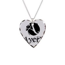 Avery grunge Necklace Heart Charm