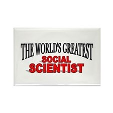 """The World's Greatest Social Scientist"" Rectangle"