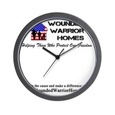 WWH001alt - Cafe Press Front_Back Cente Wall Clock