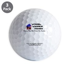 WWH001alt - Cafe Press Front_Back Cente Golf Ball