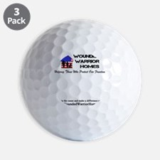 WWH001alt - Cafe Press Front_Back Cente Golf Ball