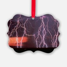 Lightening Ornament