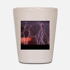 Lightening Shot Glass