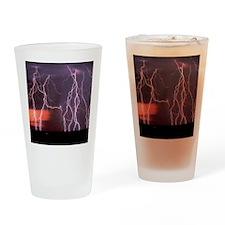 Lightening Drinking Glass