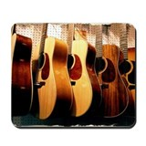 Acoustic guitar Mouse Pads
