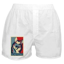 ONE HAPPY SCHIPPERKE Boxer Shorts