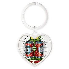 ToadilySmashed_lites Heart Keychain