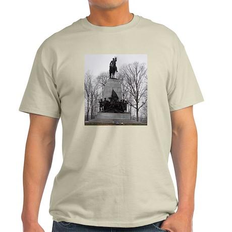 Gettysburg VA Monument Ash Grey T-Shirt