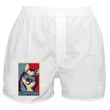 ONE HAPPY SCHIPPERKE! Boxer Shorts