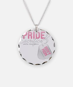 PrideandSacrifice_NavyMom Necklace