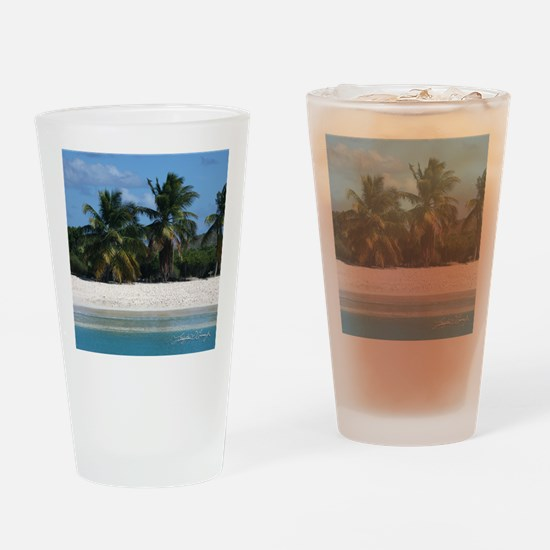 square_template_st_thom_2 Drinking Glass