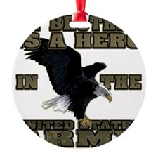 army hero_brother Ornament