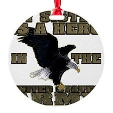 army hero_sister Ornament