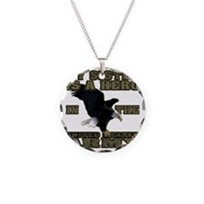 army hero_sister Necklace