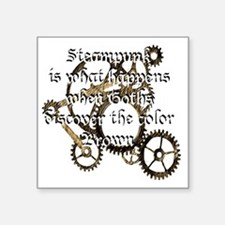 "steam_punk_1 Square Sticker 3"" x 3"""