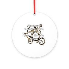 steam_punk_1 Round Ornament