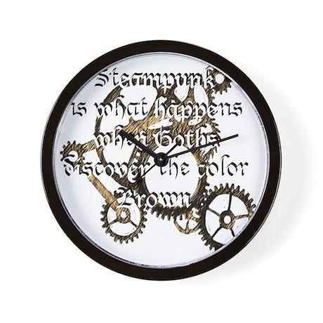 steampunk1 wall clock