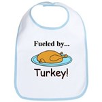 Fueled by Turkey Bib