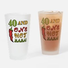 HotMama40 Drinking Glass