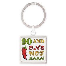 HotMama90 Square Keychain