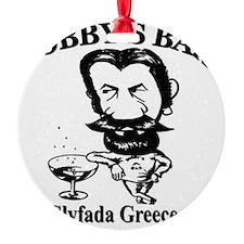 Bobbys-Bar-Logo-big Ornament