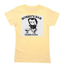 Bobbys-Bar-Logo-big Girl's Tee