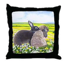 gabbysnicker_mousepad Throw Pillow