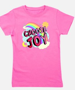 Choose Joy Large Girl's Tee