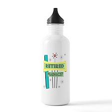 Retired Pharmacist Water Bottle