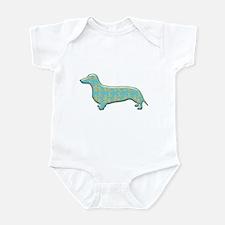 Paisley Dachshund Infant Bodysuit