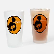 i_Nurse_Orange Drinking Glass