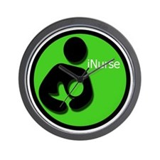 i_Nurse_Green Wall Clock