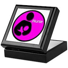 i_Nurse_Pink Keepsake Box