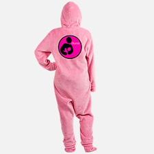 i_Nurse_Pink Footed Pajamas