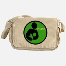 i_Nurse_Green Messenger Bag
