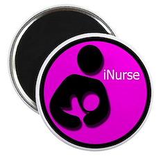 i_Nurse_Pink Magnet