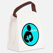 i_Nurse_Turquiose Canvas Lunch Bag