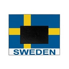 sweden-flag-lebeled Picture Frame