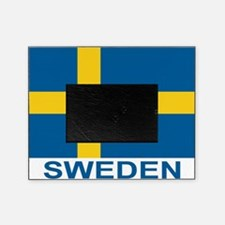 sweden-flag-lebeled Picture Frame