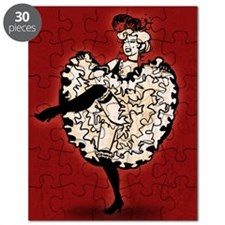 can-can-dancer_12x18 Puzzle